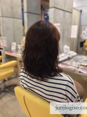 haircolor_yellowbeige8_backstyle2