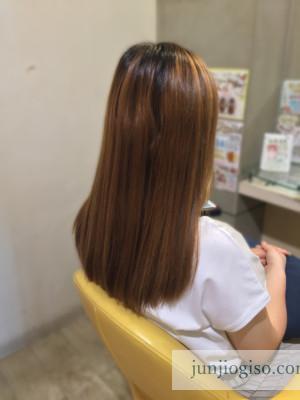 haircolor_beforegraybeige13_backstyle