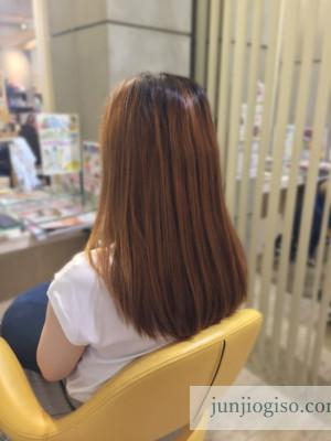 haircolor_beforegraybeige13_backstyle2
