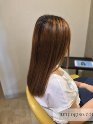 haircolor_beforegraybeige13_sidestyle