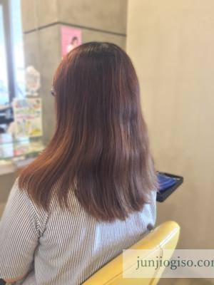 haircolor_beforepink9_backstyle2