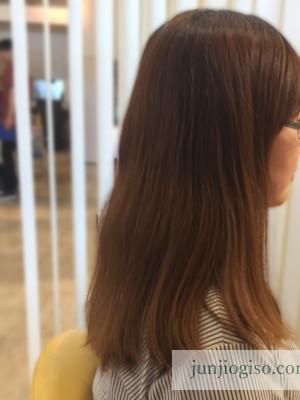 haircolor_beforepink9_sidestyle