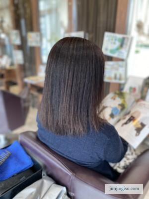 イルミナカラー白髪染め レシピ紹介 before