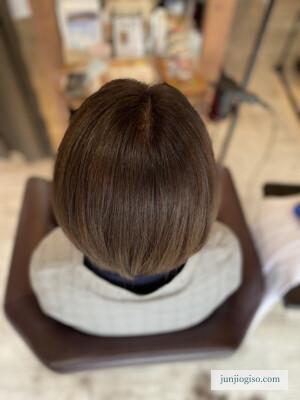 イルミナカラーオーシャン白髪染めレシピ 根本